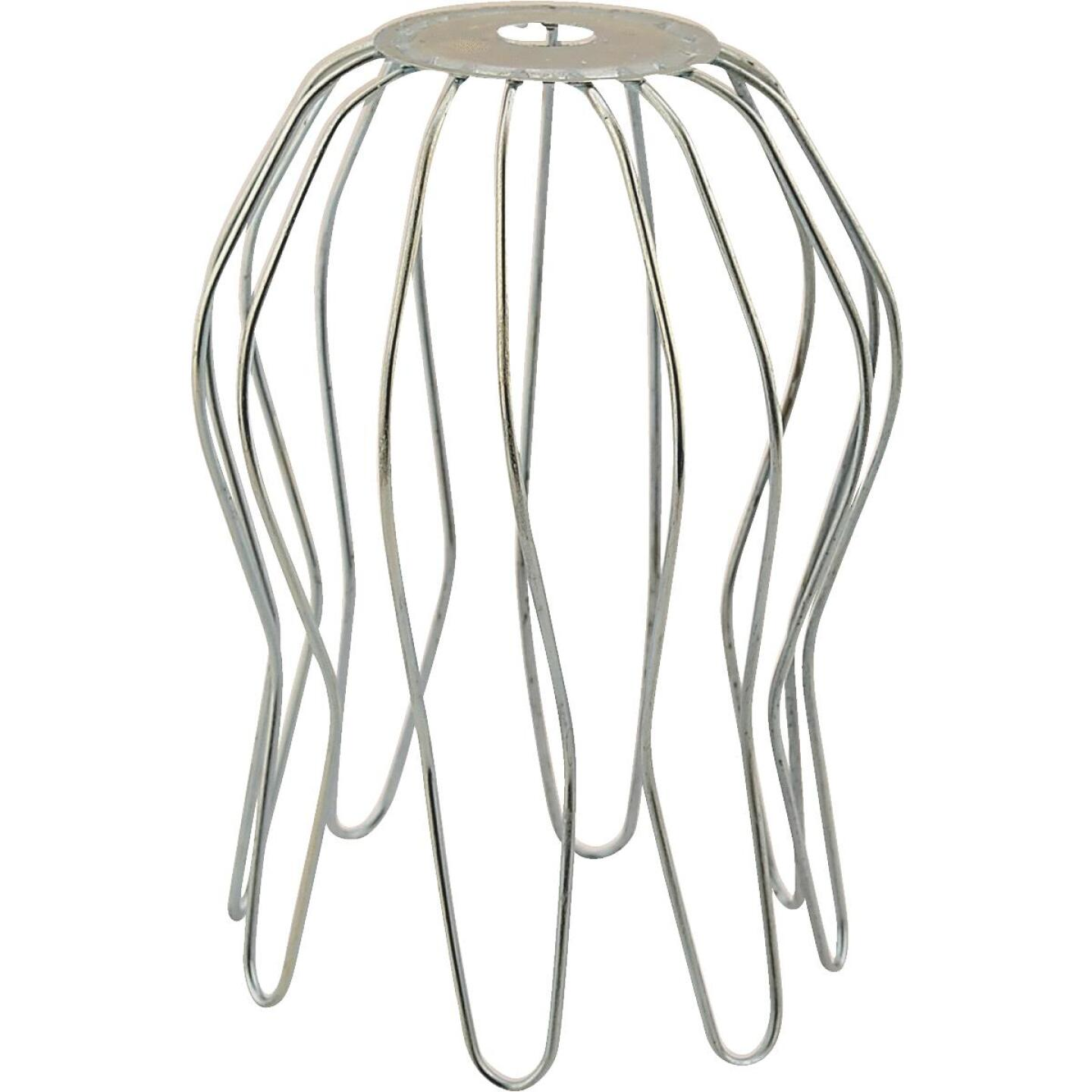Norwesco 2 - 3 In. Galvanized Downspout Strainer Image 1