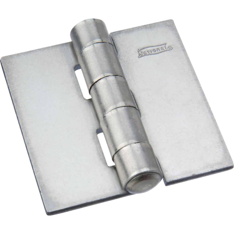 National 2 In. Square Plain Steel Weldable Door Hinge  Image 1