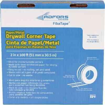 FibaTape 2 In. x 100 Ft. Steel Reinforced Corner Drywall Tape
