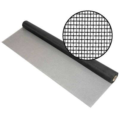 Phifer 96 In. x 100 Ft. Charcoal Fiberglass Pool Screen