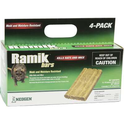 Ramik Bar Rat And Mouse Poison (4 per Box)