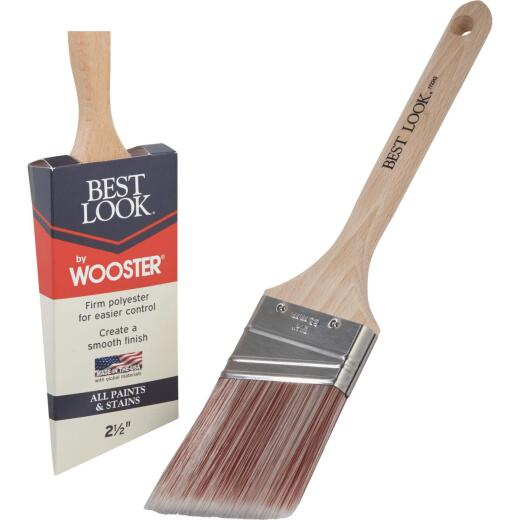 Best Look By Wooster 2-1/2 In. Angle Sash Paint Brush